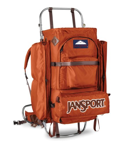B004K18SE0 JanSport D2 (Retro Orange)