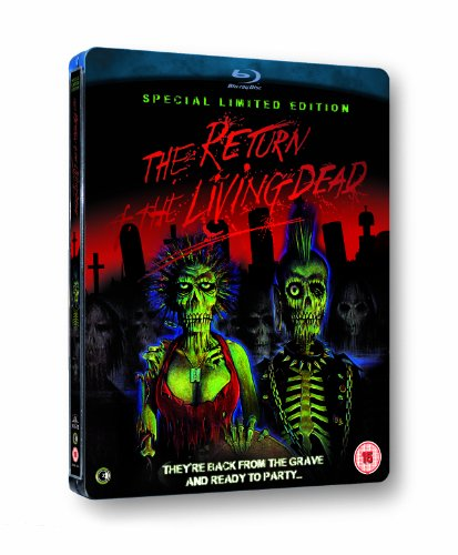 The Return of the Living Dead : Limited Special Edition Steelbook [Blu-ray] [1985] [Reino Unido]