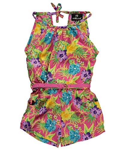 Dollhouse Little Girls Toddler Cool Breeze Belted Romper
