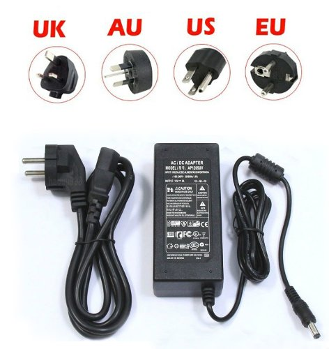 Hkbayi New 12V 5A Us 60W Power Supply Ac To Dc Adapter 3528 5050 Led Strip
