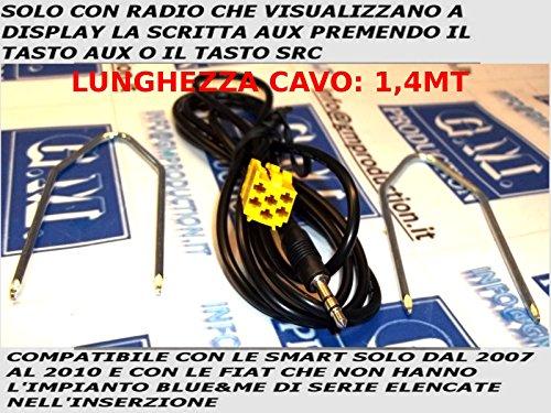 gm-production-kit191g-cavo-aux-mp3-per-autoradio-di-serie-blaupunkt-su-alfa-fiat-lancia-solo-con-aux