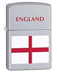 England Flag Zippo Lighter - these are great Personalised Gifts for Men - for Birthday Gifts - for Christmas Gifts...