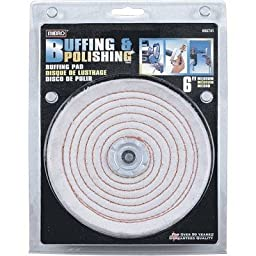 Mibro Buffing Pad - 6in. Medium, Model# 695741