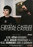 Crystal Castles No. III 2012 - Concert Poster Concertposter
