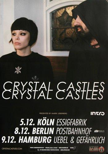 Crystal Castles - No. III 2012 - Concert Poster Plakat (Crystal Castles Poster compare prices)
