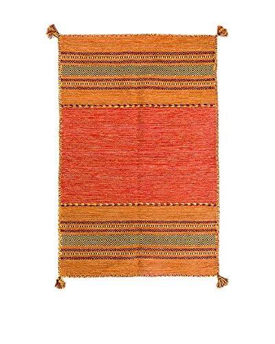 RugSense tapijt Kelim Tribal oranje 230 x 160 cm
