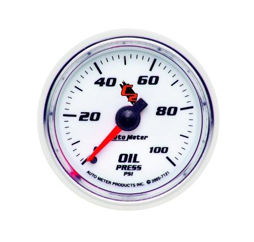 Auto Meter 7121 C2 Mechanical Oil Pressure Gauge