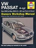 VW Passat 4-cyl Petrol and Diesel Service and Repair Manual: 2000-2005