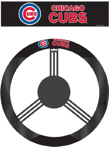 MLB Chicago Cubs Poly-Suede Steering Wheel Cover at Amazon.com