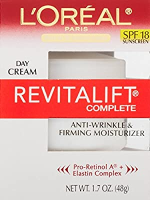 L'Oreal Paris RevitaLift Anti-Wrinkle + Firming Day Cream SPF 18-SuperPack- 3.4 Fluid Ounce from L'Oreal Paris