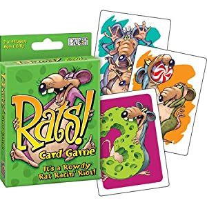 Rats! Card Game Its a Rowdy Rat Racin' Riot!