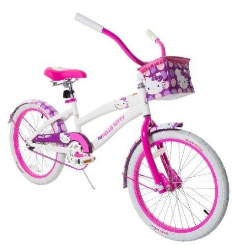 Hello-Kitty-Girls-Cruiser-Bike-with-12-Inch-Frame