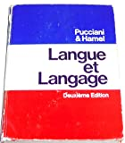 Langue et langage (French Edition) (0030892422) by Pucciani, Oreste F