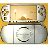 Mystic Silver PSP 3000 Series Full Shell Cover Housing Replacement with Button Set