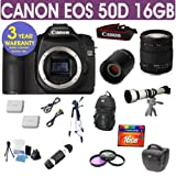 Refurbished Canon EOS 50D + Sigma 18-200 Lens + 650-1300mm Lens
