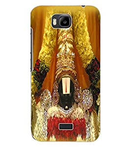 ColourCraft GOD Tirupati Balaji Design Back Case Cover for HUAWEI HONOR BEE