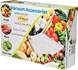 Andrew James Vacuum Food Sealer Bags - 50 Bags Incl