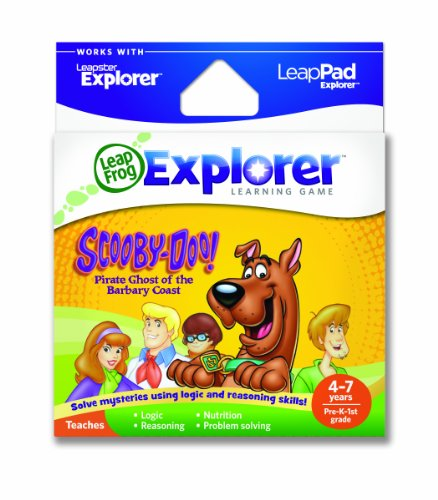 LeapFrog Explorer Learning Game: Scooby-Doo! Pirate Ghost of the Barbary Coast (works with LeapPad & Leapster Explorer)