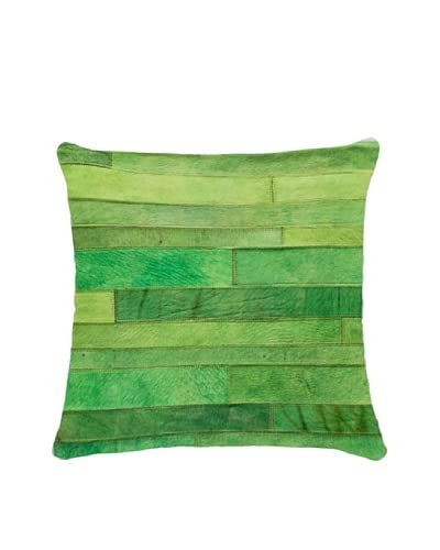 Natural Brand Torino Madrid Pillow, Green