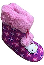 Hello Kitty Girl's Fleece Slipper Boot