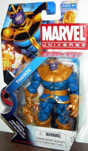 Marvel Universe 3 3/4 Inch Series 11 Action Figure #34 Thanos by Marvel