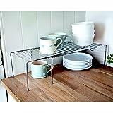 Lakeland Expandable Adapt-a-Shelf Stand Cupboard Organiser