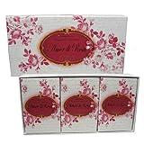 Saponificio Artigianale Fiorentino Amor Di Rosa 3 Pk Rose Soaps 5.29 Oz Each