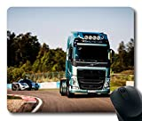 NEW Custom Fascinating Mouse Pad with Volvo Fh Koenigsegg 2014 Supercar Rotate Auto Non-Slip Neoprene Rubber Standard Size 9 Inch(220mm) X 7 Inch(180mm) X 1/8 Inch(3mm) Desktop Mousepad Laptop Mousepads Comfortable Computer Mouse Mat