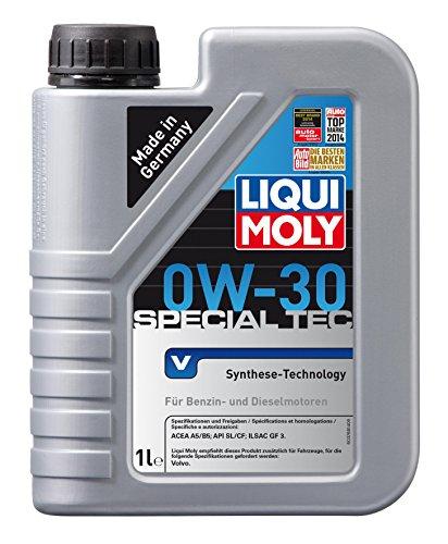 Liqui Moly 3768 Special Tec V Motoröl 0W-30 1 l Kanister Kunststoff