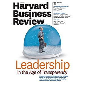 Harvard Business Review, April 2010 | [Harvard Business Review]