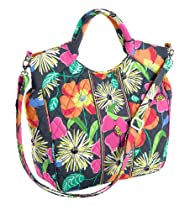 Vera Bradley Two Way Tote Jazzy Blooms