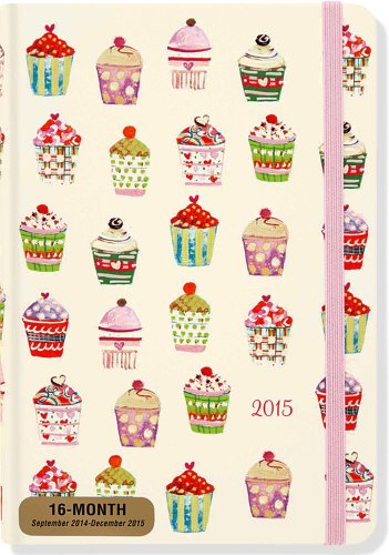 2015 Cupcakes Weekly Planner (16-Month Engagement Calendar, Diary)
