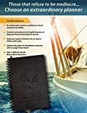 Freedom Planner -The Ultimate Personal Organizer, Monthly Weekly Calendar, Goal Journal & Motivational Notebook - 7x10size 100% recycled paper - For Men & Women who want to EXCEL in life! *Dated 2016*