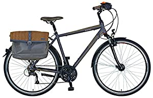 Prophete Herren Fahrrad Alu Trekking 28 Zoll Entdecker 6.01, anthrazit, M, 53506-1111
