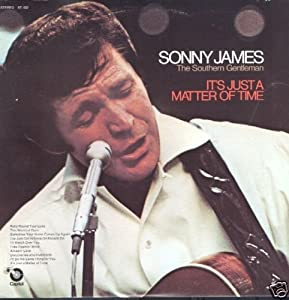 SONNY JAMES - it's just a matter of time CAPITOL 432 (LP vinyl record)