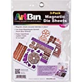ArtBin 6979AB Magnetic Die Sheets, 3-Pack