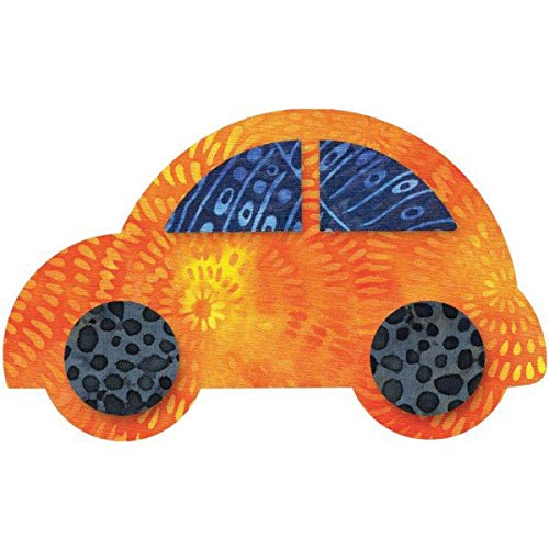 "Go! Fabric Cutting Die-Cute Car -5-1/2""X3-3/8"" front-40534"