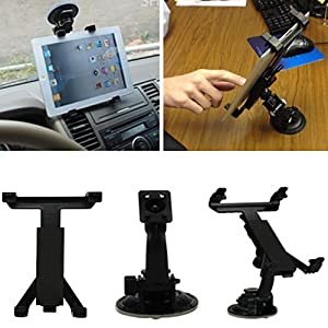 HDE Universal 360-Degree Car GPS Windshield Dashboard Holder Mount for Apple iPad