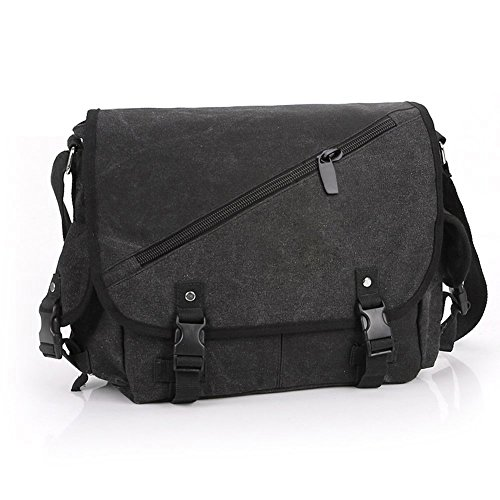 Casual Messenger Crossbody Bag Shoulder Bag Sw1079,Black image
