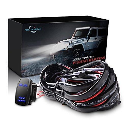 mictuning-12ft-led-light-bar-wiring-harness-40amp-relay-fuse-laser-blue-on-off-rocker-switch-rear-li