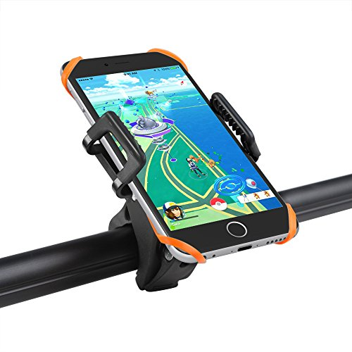 Taotronics-Bike-Phone-Mount-Bicycle-Holder-Universal-Cradle-Clamp-for-iOS-Android-Smartphone-GPS-other-Devices-with-One-button-Released-360-Degrees-Rotatable-Rubber-Strap