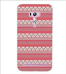 PrintDhaba Tribal Pattern D-5418 Back Case Cover for ASUS ZENFONE SELFIE ZD551KL (Multi-Coloured)