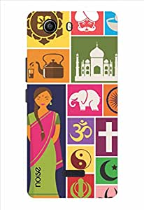 Noise Hues Of India Printed Cover for Micromax Canvas Nitro E311