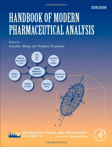 Handbook Of Modern Pharmaceutical Analysis, Volume 10, Second Edition (Separation Science And Technology) front-558472