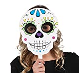 Day Of The Dead Stick Masks 6ct
