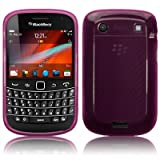 BlackBerry Bold 9900 Gel Skin Case / Cover - Purpleby TERRAPIN