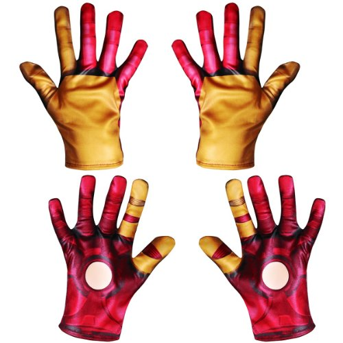 Iron Man Mark 42 Classic Child Gloves Costume Accessory