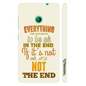Nokia Lumia 530 Cut The Crap designer mobile hard shell case by Enthopia