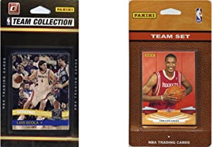 NBA Houston Rockets 2 Different Licensed Trading Card Team Sets by C&I Collectables