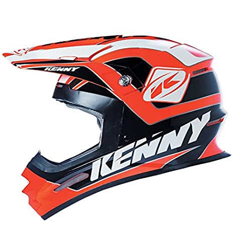 KENNY - Casque Cross Track Orange Noir Xs 53/54 Cm